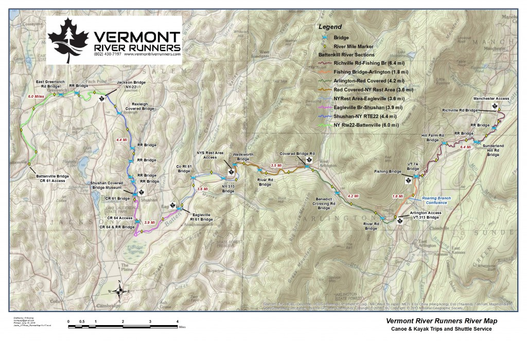 Vermont canoe, kayak and tube rentals on the Battenkill River